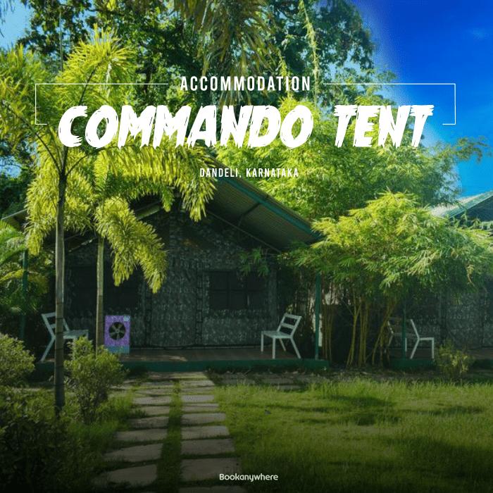 dandeli commando tent stay + activities package price & details