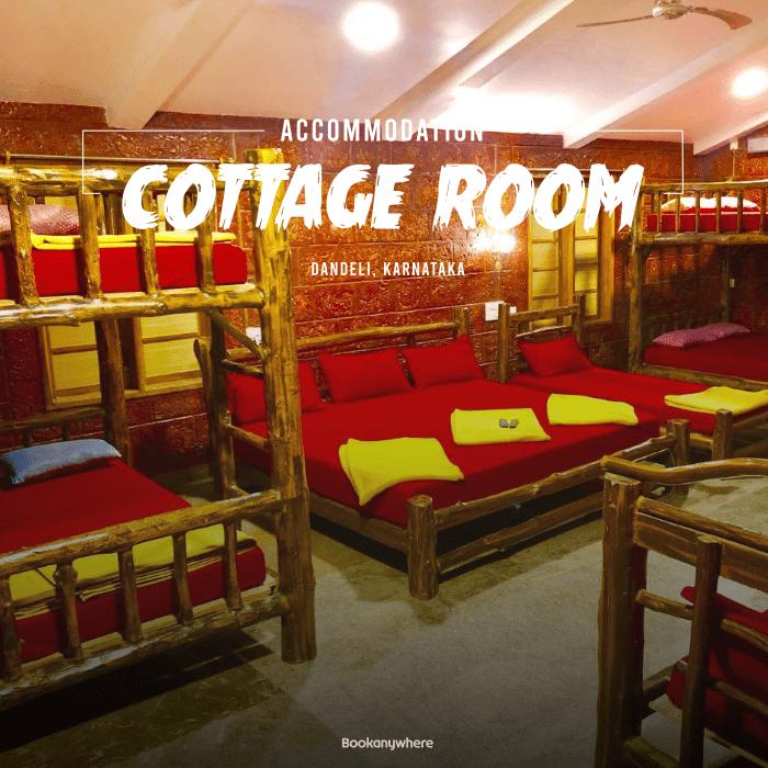 dandeli cottage room stay + activities package price & details