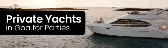 Goa Yacht Booking for Private Party by Cruising Club India