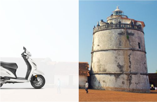 Rent a Bike in Candolim North Goa