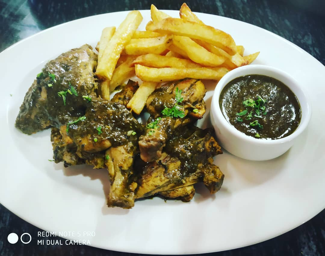 Chicken Cafereal - Goan Food - Food to try in Goa