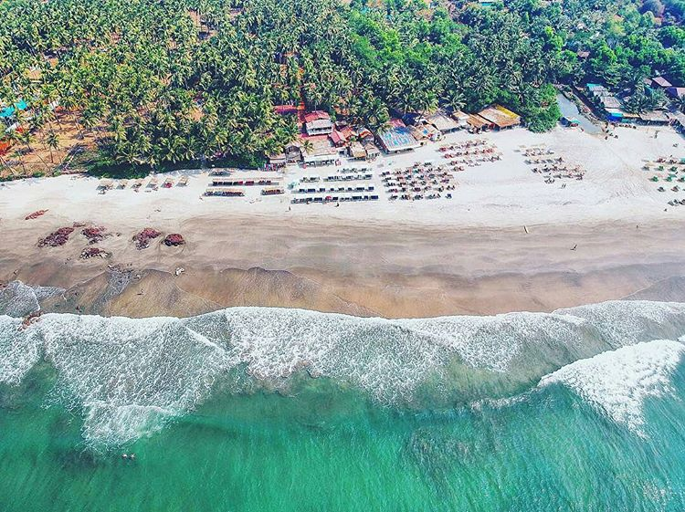 - North Goa Beach