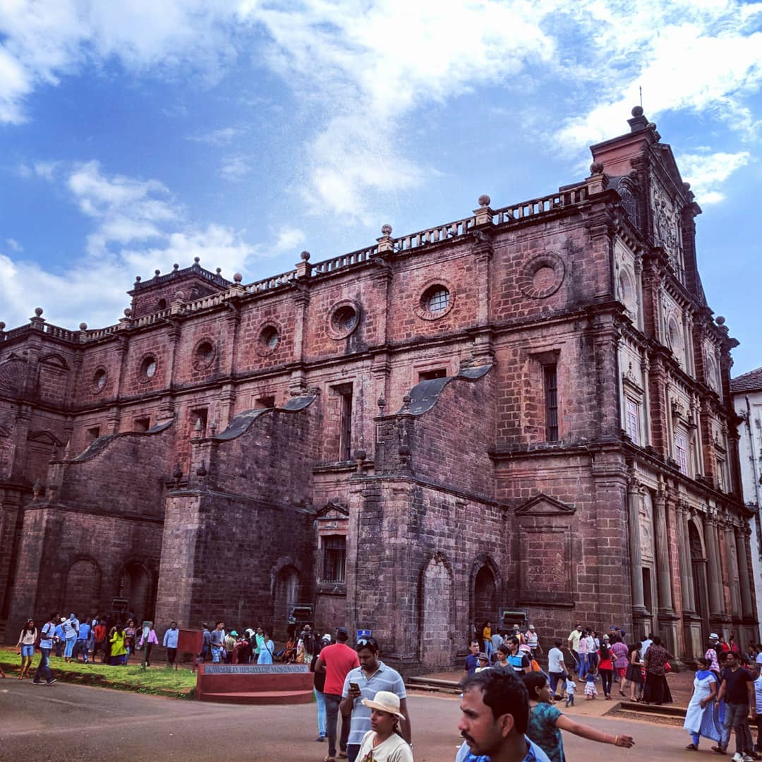 Basilica of Bom Jesus Church - North Goa Church