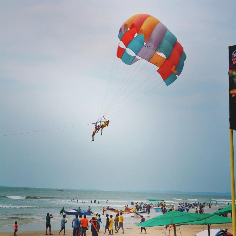 Parasailing - Activities - Things to do in Goa